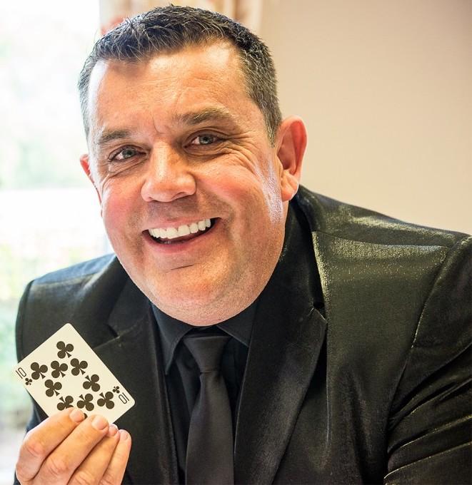 Kent Magician Marc Lemezma